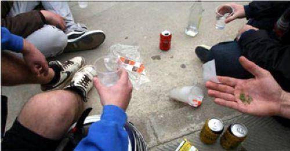Cómo se comercializa la droga en el sector de los adolescentes