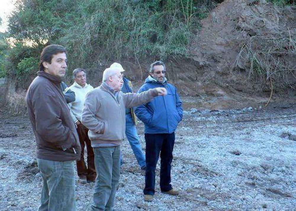 Avanza la sistematización del Arroyo Las Martas entre Capital y Palpala