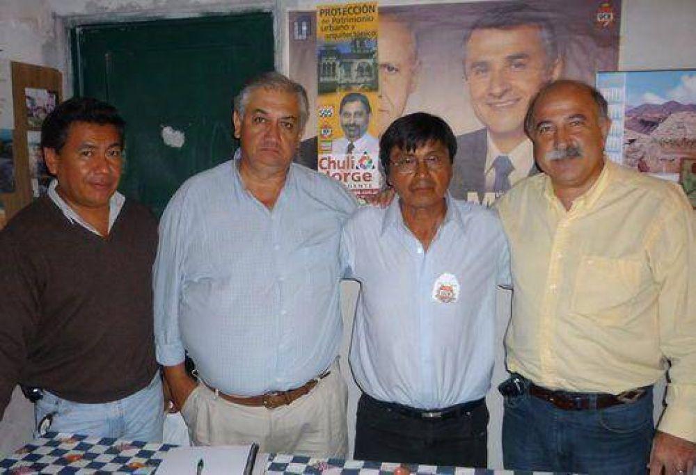 Candidatos a concejal por el FACyS estuvieron en Alto Comedero