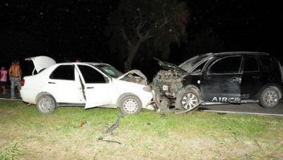 Falleció un bebé de 7 meses en un accidente de tránsito