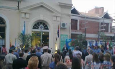 En Curuzú, Colombi habilitó el primer centro de videovigilancia monitoreado por la Policía
