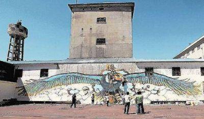 Inauguran mural en la cárcel de Devoto