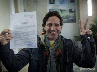 Las autoridades rusas retiraron los cargos a todos los activistas de Greenpeace