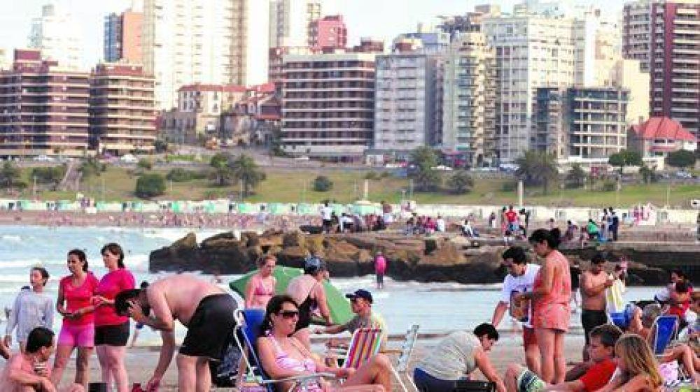 La Costa se llenó de gente que pasó las Fiestas en vacaciones