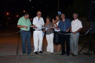 Se inauguraron cuatro nuevas cuadras de pavimento