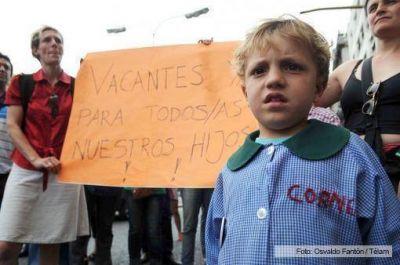 La inscripción online a escuelas porteñas dejó a 17.000 niños sin vacantes