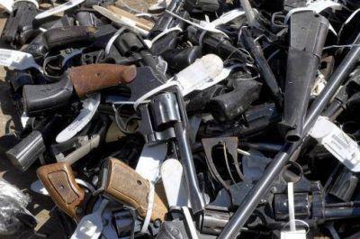 Sacan de circulación 61.693 armas y Argentina recibe un premio de la Organización de Naciones Unidas
