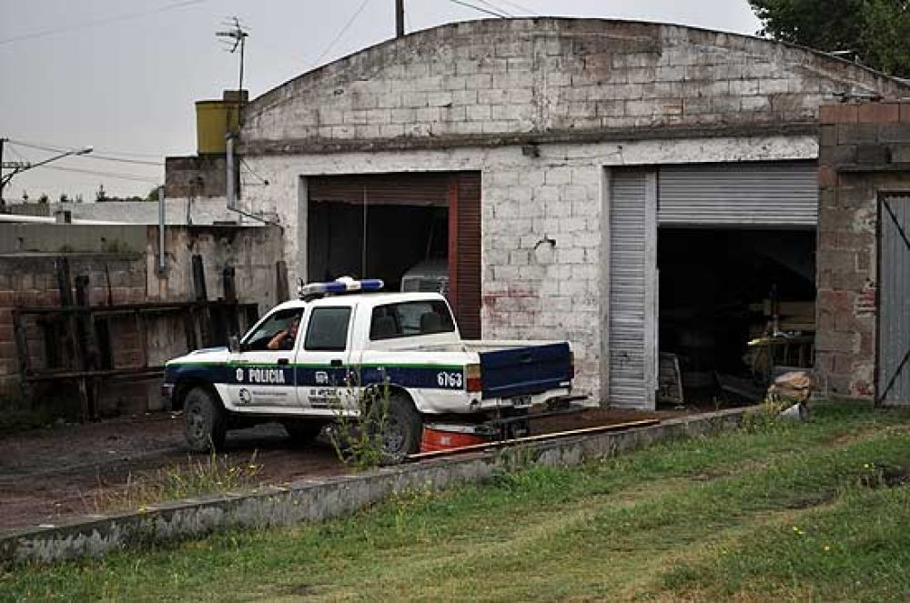 Explosión en taller mecánico: un menor herido