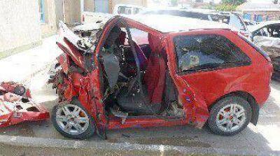 Mueren dos personas en un choque frontal al sur de Caleta
