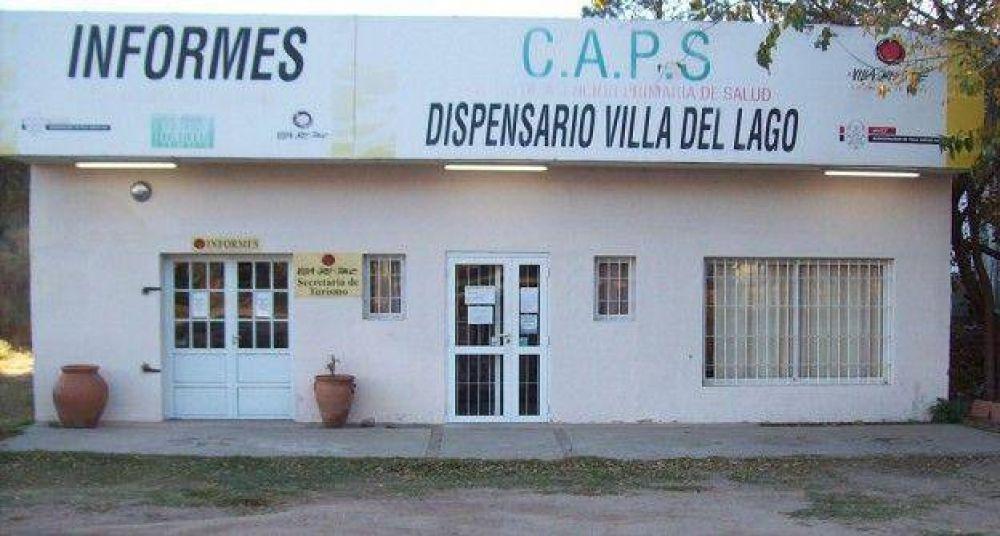 Vecinos temen el cierre del dispensario de Villa del Lago