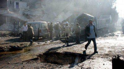 En dos semanas, el régimen sirio mató a más de 500 civiles