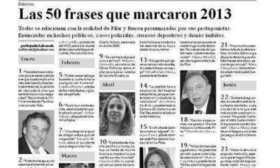 Las 50 frases que marcaron 2013