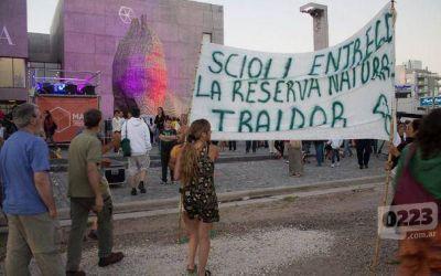 Scioli impulsar� proyecto de ley para declarar provincial la Reserva del Puerto