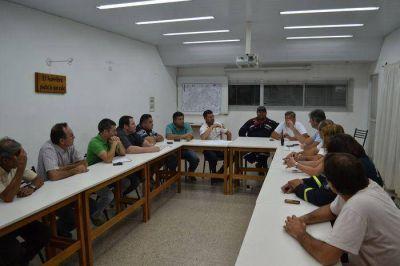 Se reunió el comité de crisis por el incendio en el sector serrano