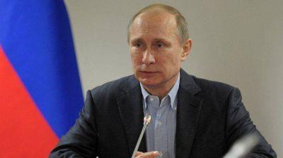 Vladimir Putin ordenó reforzar la seguridad en toda Rusia