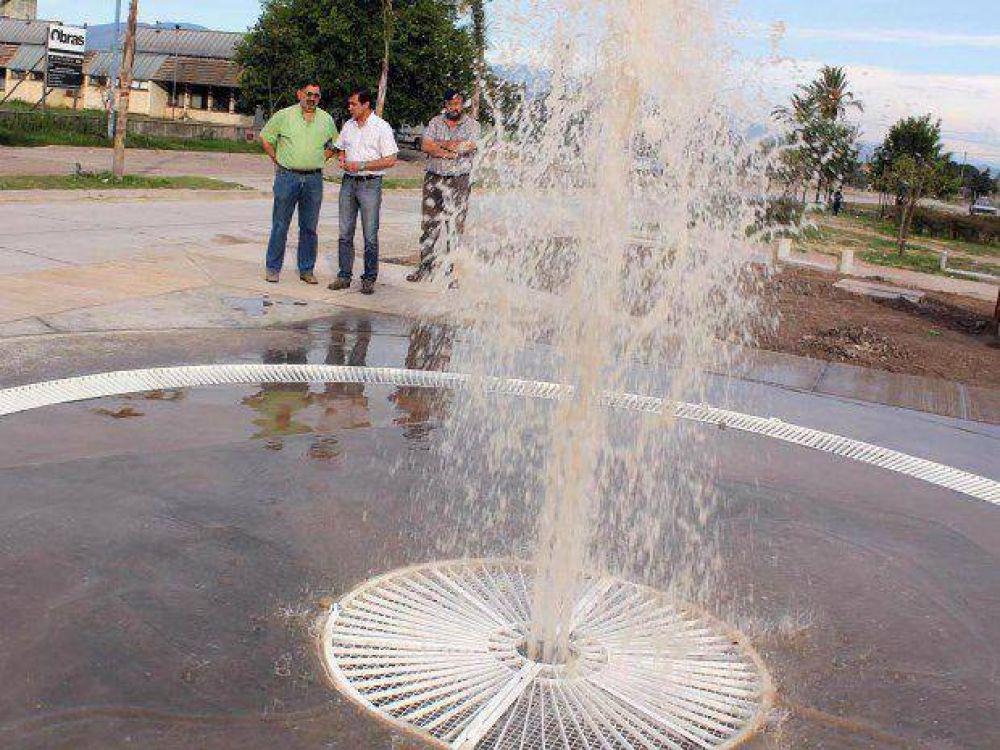 Comuna avanza con obras que se construyen en Parque Lineal