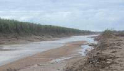 La sequía traería años de escasos caudales