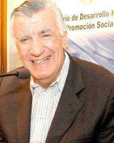 José Luis Gioja mandó un saludo por fin de año