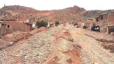 Intensa lluvia afectó poblados en el norte