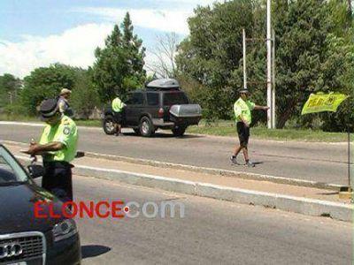 En el primer día del año, detectaron 20 conductores alcoholizados en rutas entrerrianas