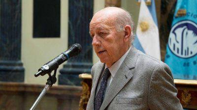 Falleció el presidente de la Bolsa de Comercio, Horacio Fargosi