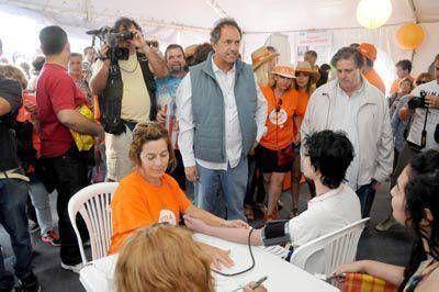 """Scioli le pidió a la oposición """"una convivencia madura y democrática sin confrontación"""""""