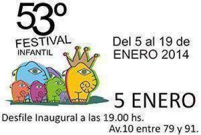 Arranca el domingo la 53º edición del Festival Infantil. Se extenderá hasta el 19 de enero