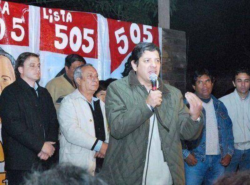 El FPV present� sus candidatos en Calilegua