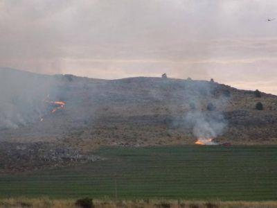 Incendio en las sierras: hay cuatro focos activos