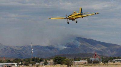 Incendio en Sierra: complicada situación en el cerro Tres Picos