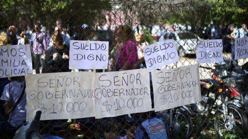 El sindicalismo opositor se apoya en el salariazo que obtuvieron las policías para presionar en las paritarias