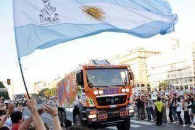 """""""La Argentina pelear� con u�as y dientes la largada del Rally Dakar 2015"""""""