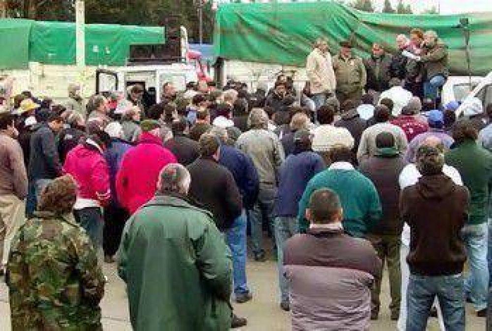 Atcade respondió al llamado de los transportistas de la ciudad de Balcarce