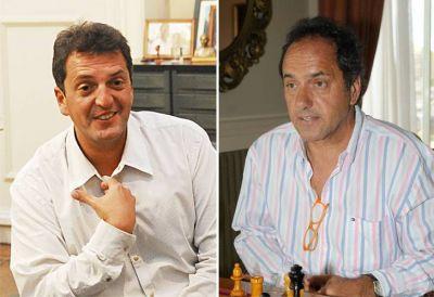 La pelea por 2015: Massa y Scioli aceleran la competencia electoral