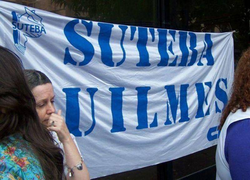 SUTEBA Quilmes exige la apertura de las paritarias docentes en enero