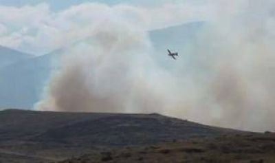 Incendio en Sierra de la Ventana: Aseguran que el fuego está controlado