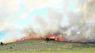 En Sierra de la Ventana confían en terminar hoy con el incendio