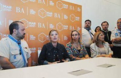 Firman convenio e inician campa�a contra violencia de g�nero en Mar del Plata