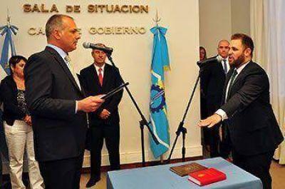 GLINSKI JURÓ COMO NUEVO MINISTRO DE SEGURIDAD DE BUZZI
