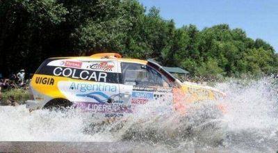 """Gran etapa del """"Pato"""" en el Dakar"""
