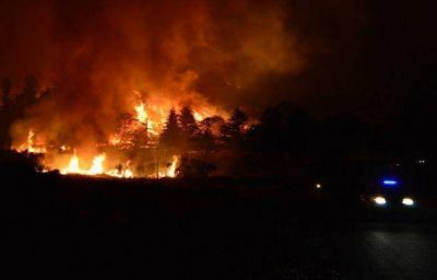 Controlaron el incendio más grande en la historia de la Provincia de Buenos Aires