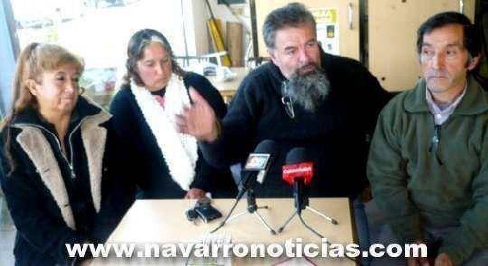 Raúl Castells llegó a Navarro para apoyar a Rubén Aranda