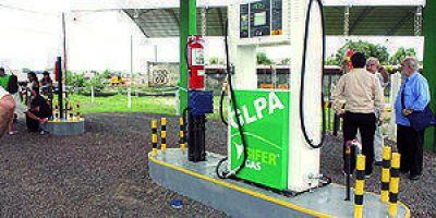 Inauguraron la primera estación de servicio de autos a gas en Formosa