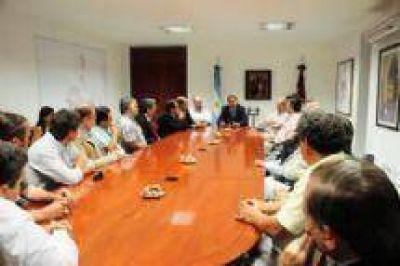 Empresarios se reunieron con el Intendente Miguel Isa acordaron trabajar por la ciudad