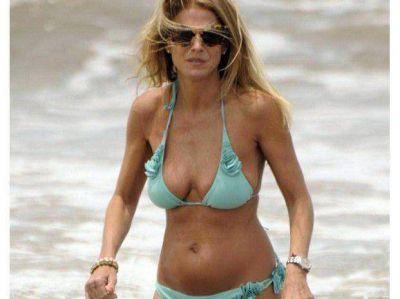 Flavia Palmiero calentó las playas de Punta con su impecable figura