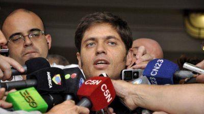 """Kicillof: """"Intentan armar telenovelas entre los miembros del Gabinete"""""""
