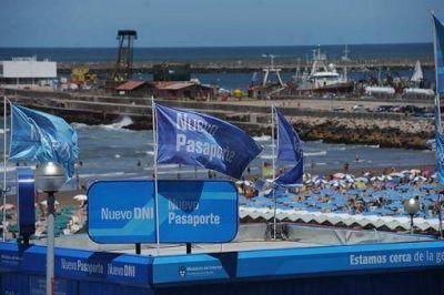 Más de 43 mil turistas tramitaron su DNI y pasaporte en la Costa