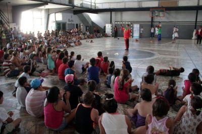 Más de 500 chicos participaron de la apertura de las Escuelas Abiertas en Verano