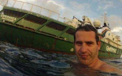 El HCD brindar� un reconocimiento al activista marplatense de Greenpeace Hern�n P�rez Orsi