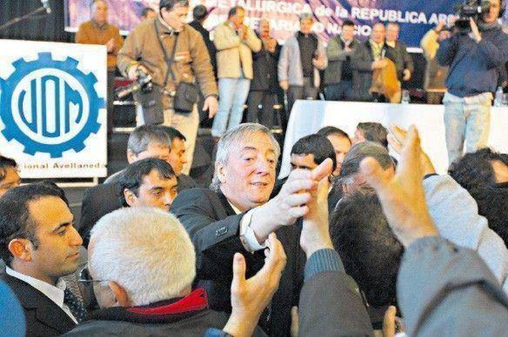 Kirchner atacó a empresarios y exigió que apoyen el modelo